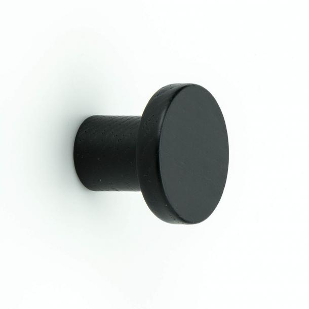 Gałka do mebli - Czarne drewno - Circum - 33 mm