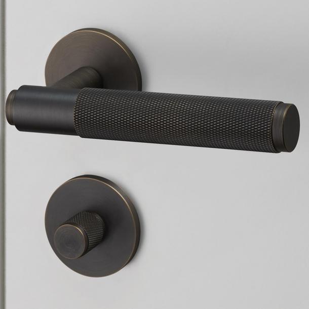 Buster+Punch Türgriffe & WC Rosette - Industrielles Design - Innere - Geräucherte Bronze