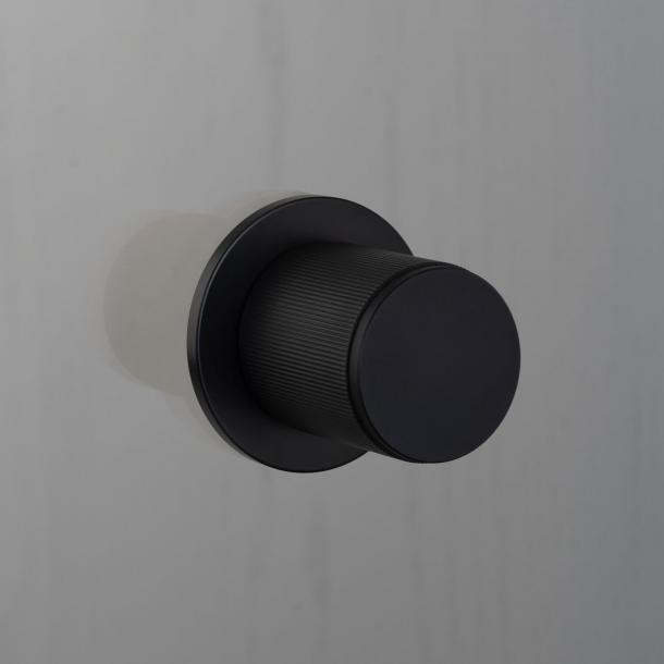 Buster+Punch Door knob Fixed  - Black - Model LINEAR