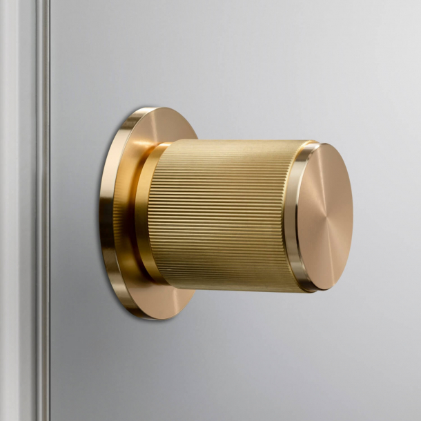 Buster+Punch Door knobs - Brass - Model LINEAR - cc30/38 mm