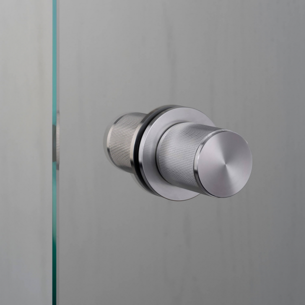 Buster+Punch Door knobs Fixed  - Stainless steel - Model LINEAR