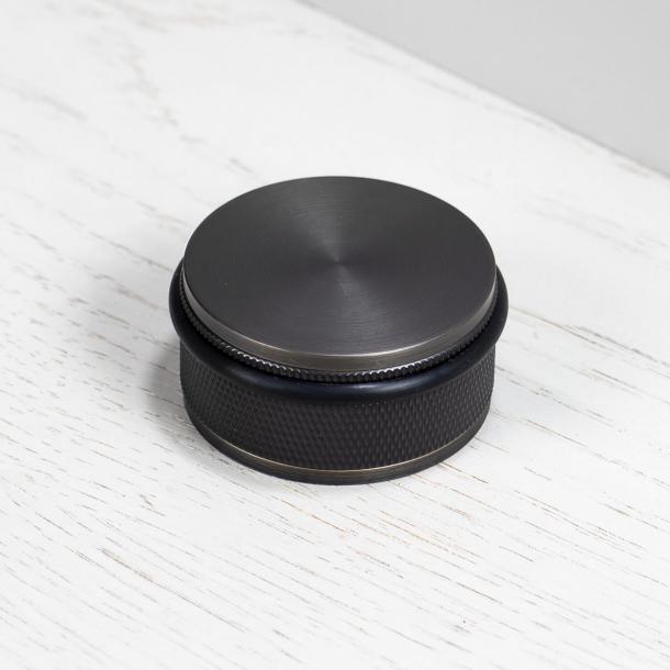Buster+Punch Door stop - Floor - Smoked bronze - ø50mm