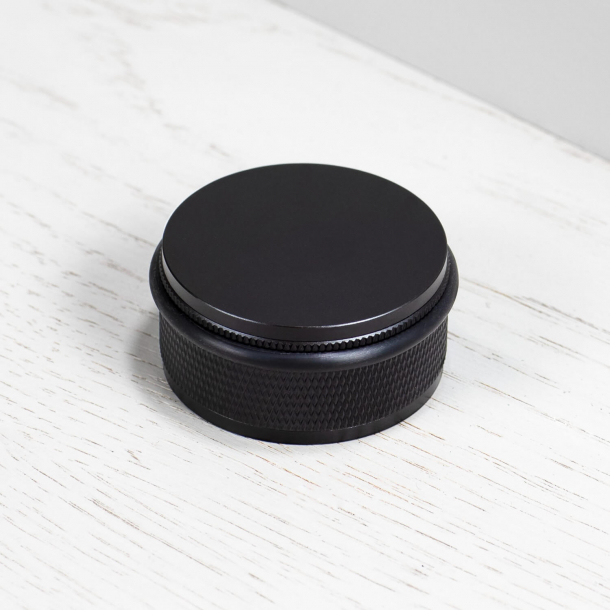 Buster+Punch Door stop - Floor - Black - ø50mm