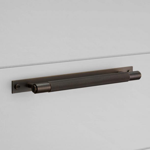 Buster+Punch Pull bar med bakplatta - Brons - Modell Cross - 200/300/400mm