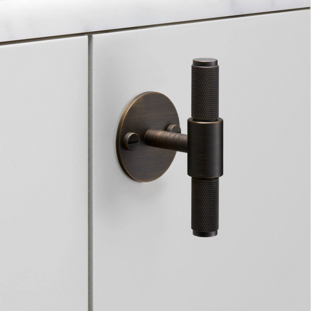 Buster+Punch T-Bar cabinet handle - Bronze - Model Cross