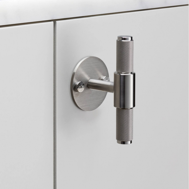 Buster+Punch T-Bar cabinet handle - Stainless steel - Model Cross