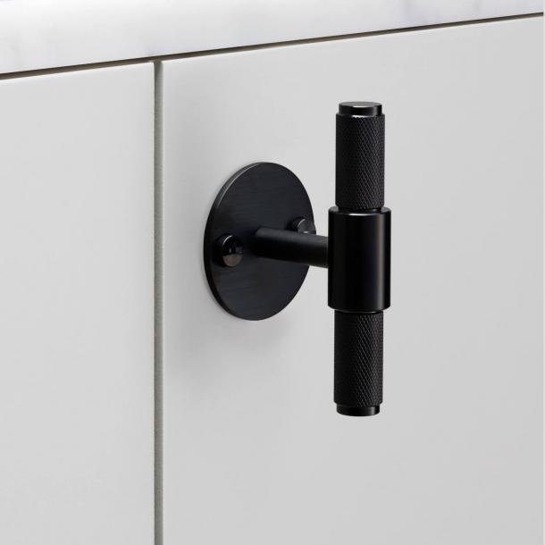 Buster+Punch T-Bar cabinet handle - Black - Model Cross