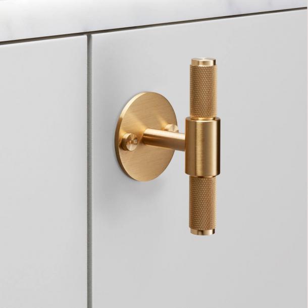 Buster+Punch T-Bar cabinet handle - Brass - Model Cross