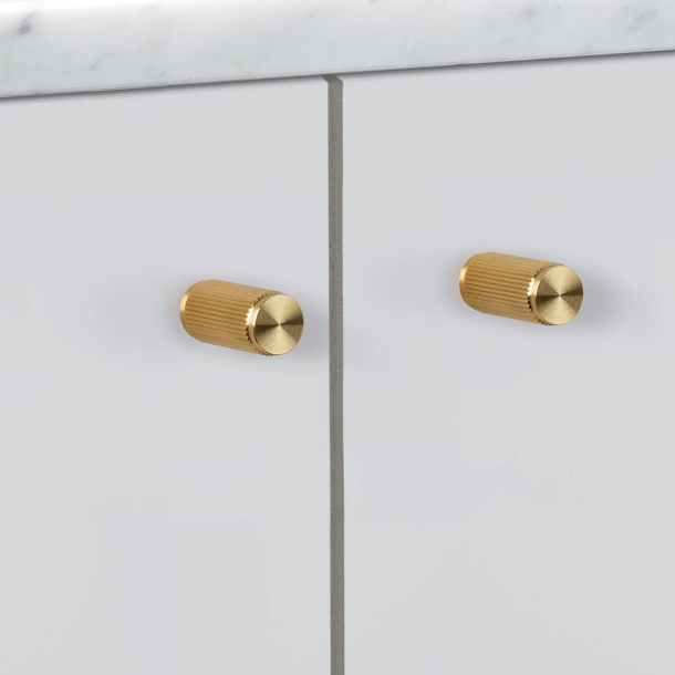 Buster + Punch - LINEAR - Furniture knobs (2 pcs) - Brass - 12 x 25 mm