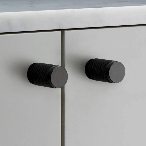 Buster+Punch Furniture knobs (2 pcs) - Black - 20x34 mm