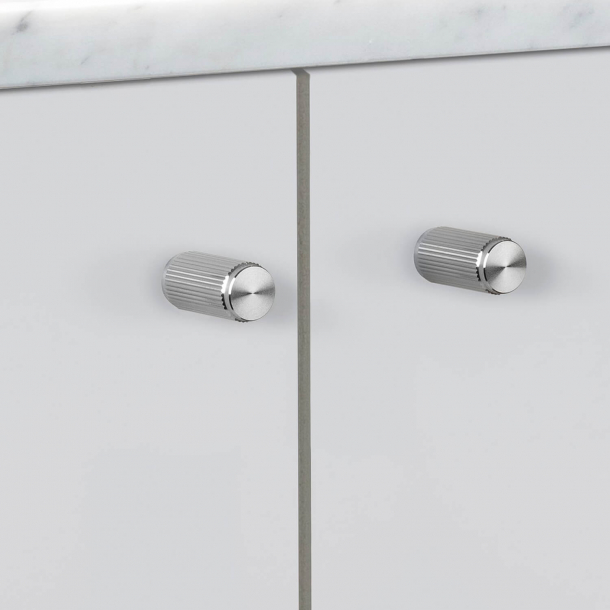 Buster + Punch - LINEAR - Furniture knobs (2 pcs) - Steel - 12 x 25 mm