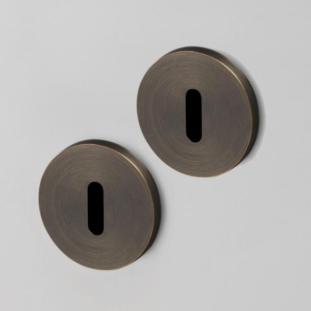 Buster+Punch Key Escutcheon - Industrial design - Interior - Smoked bronze - cc35mm
