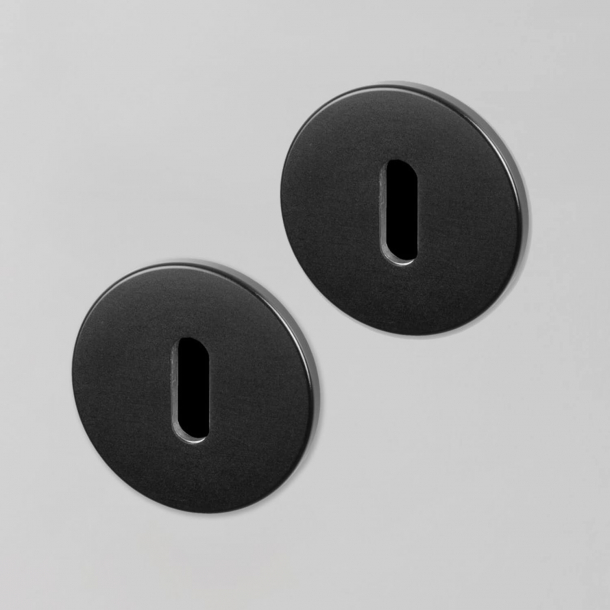 Buster+Punch Key Escutcheon - Industrial design - Interior - Black - cc27mm