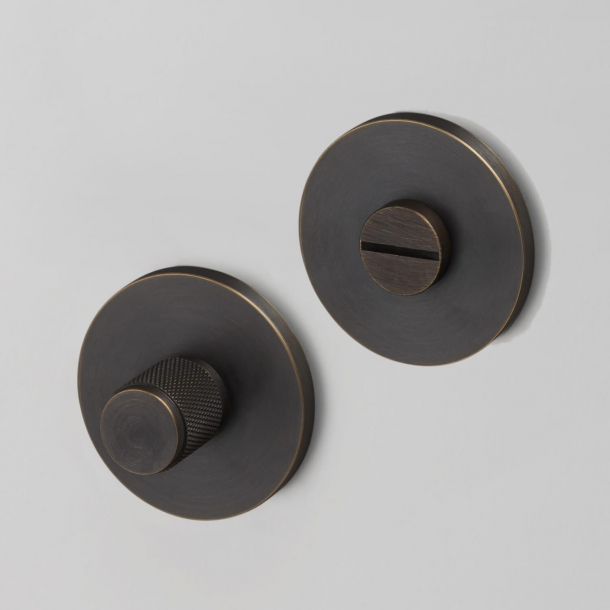 Buster+Punch Thumb turn lock - Industrial design - Interior - Smoked bronze - cc27mm