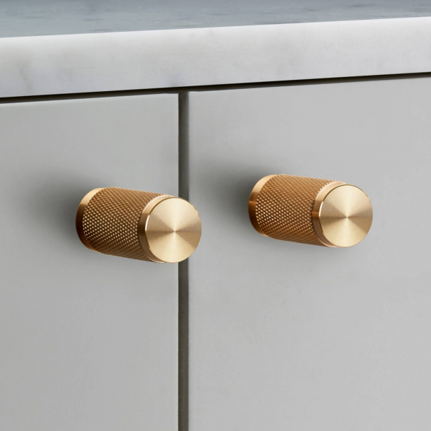 Buster+Punch Furniture knobs (2 pcs) - Brass - 20x34 mm