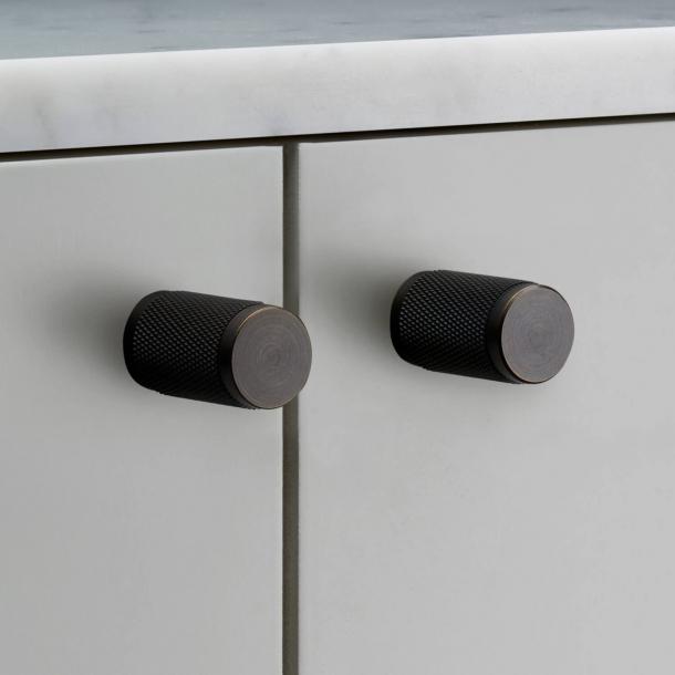 Buster+Punch Möbelknöpfe (2 Stück) - Geräucherte Bronze - 20x34 mm