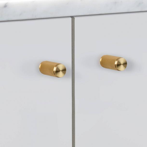 Buster+Punch - LINEAR - Møbelknopper (2 stk) - Messing - 12 x 25 mm