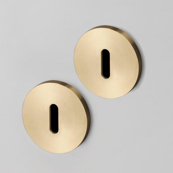 Buster+Punch Key Escutcheon - Industrial design - Interior - Brass - cc35mm