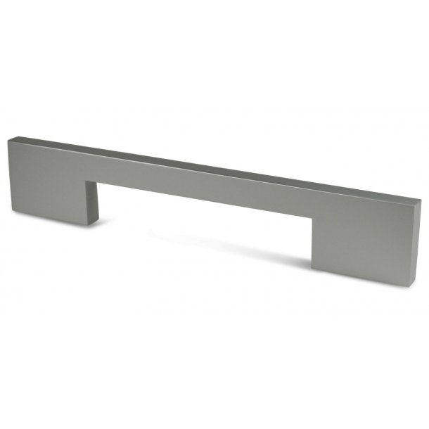 Furniture handle CJX - Nature anodized aluminum - 168mm