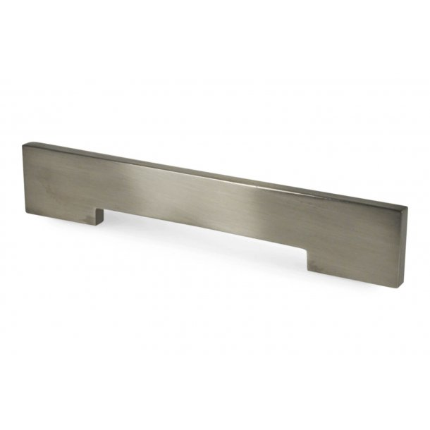 Furniture handle 1728 - Brushed steel - cc280mm