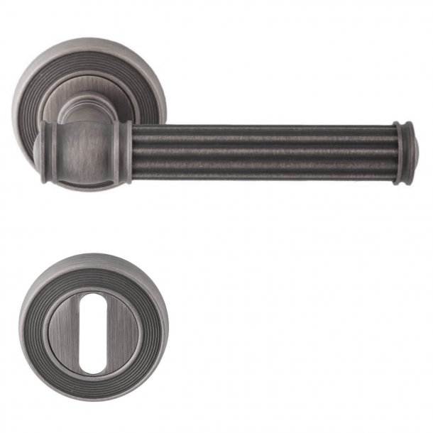 Door handle Antique iron, Interior - Model IMPERO