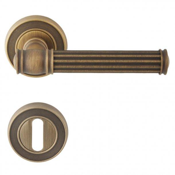 Door handle Bronze interior - Model IMPERO
