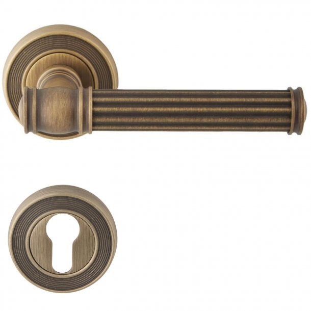 Door handle, Exterior, Bronze, Model IMPERO