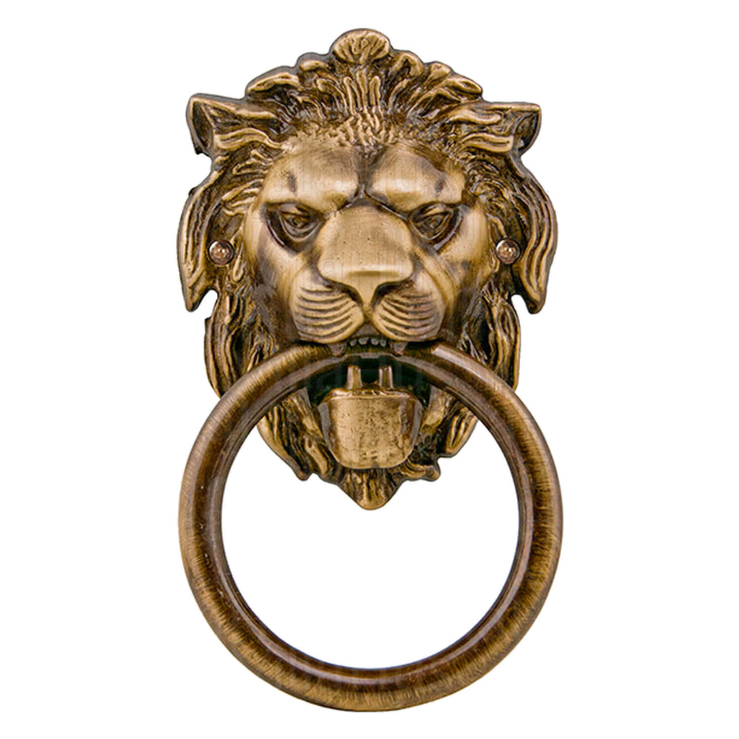 Door Knocker Lion Head Bronze 110x190 Mm Model Leone