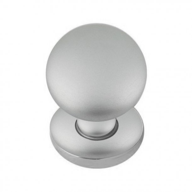 Door Knob, Satin Chrome, 50 mm Model SFERA