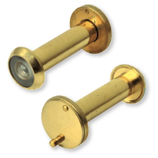 Door viewer peep hole - Brass - 50-80mm door thickness