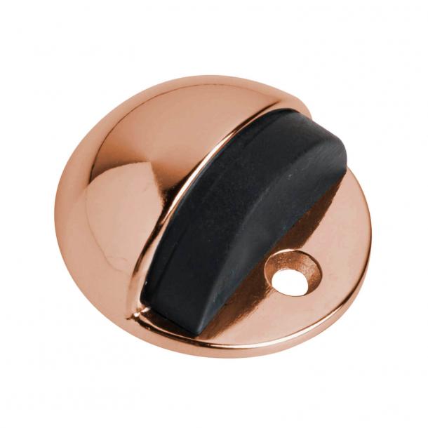 """Door stop """"Turtle"""" - Polished copper - Low model"""