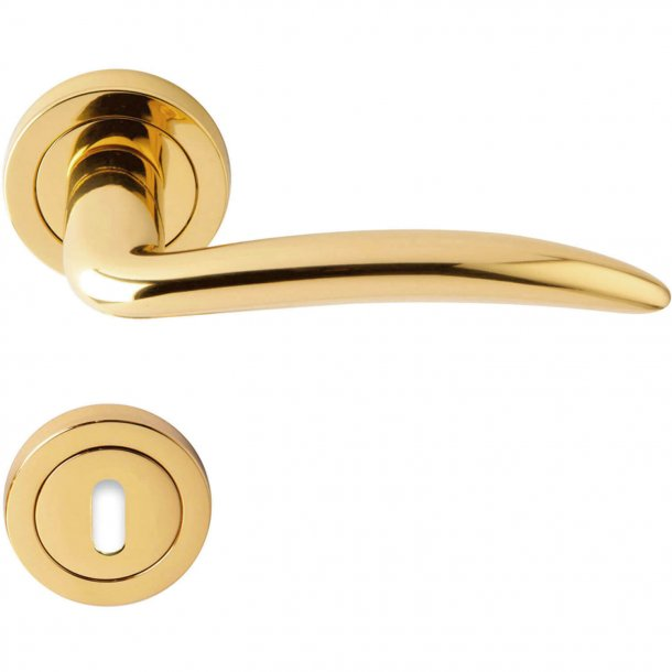 Door handle brass - Model ICARO
