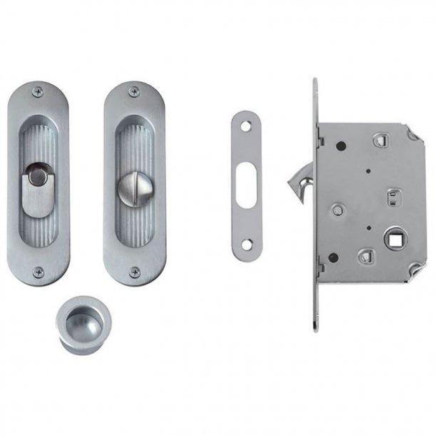 Skjutdörrskålar med låslåda - Matkrom - Modell 203