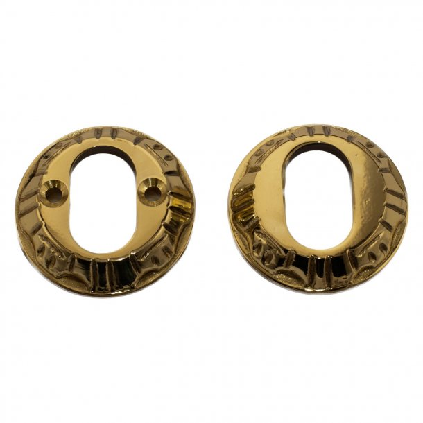 Cylinder Ring double 1472/72 Oval cylinder brass