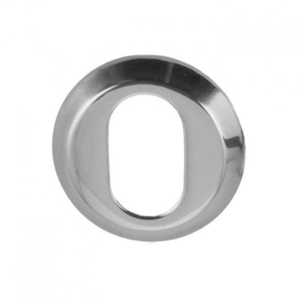 Arne Jacobsen cylinderring udvendig - Blank krom - 6 mm