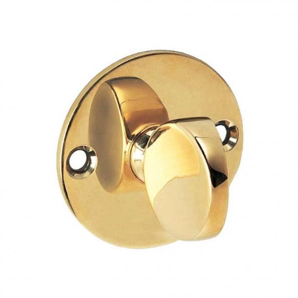 Arne Jacobsen Thumb turn - Polished Brass