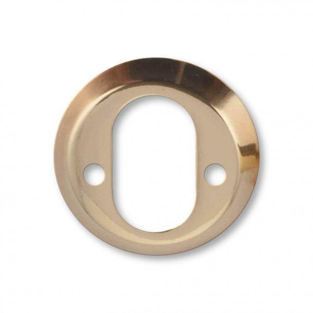 Arne Jacobsen cylinderring indvendig - Poleret Messing - 6 mm