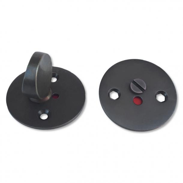 Arne Jacobsen toiletbesætning - Bruneret Messing - cc27mm