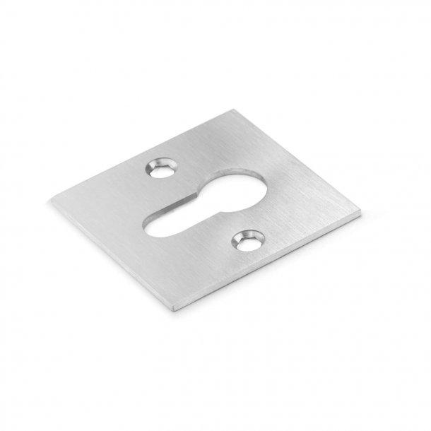 Cylinder ring Europrofil - Brushed steel  -Schmidt Hammer Lassen - cc30mm