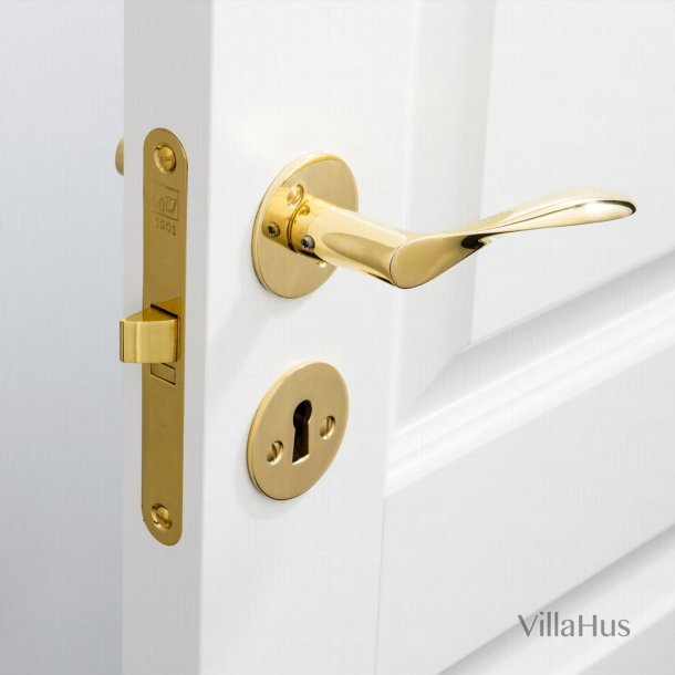 Arne Jacobsen door handle - AJ97 grip - Brass - Small model cc38mm