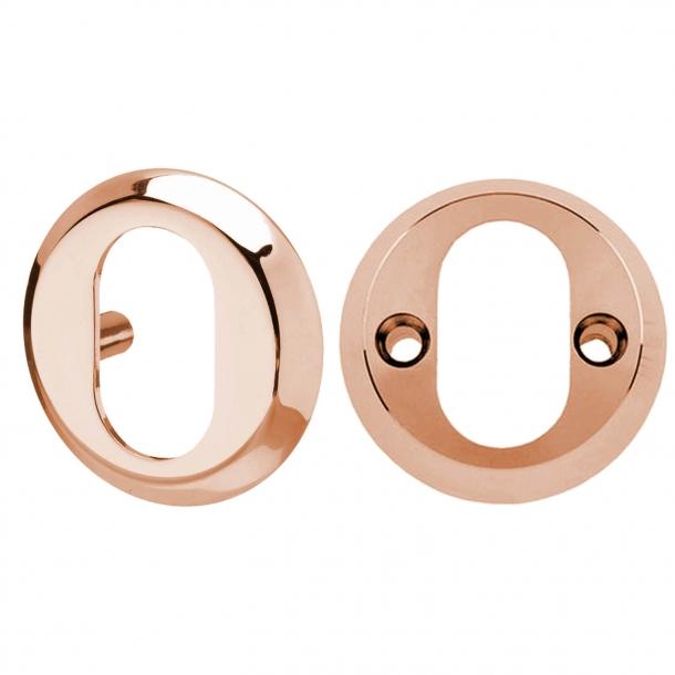Cylinderring Udvendig 6 mm / Indvendig 16 mm - Kobber