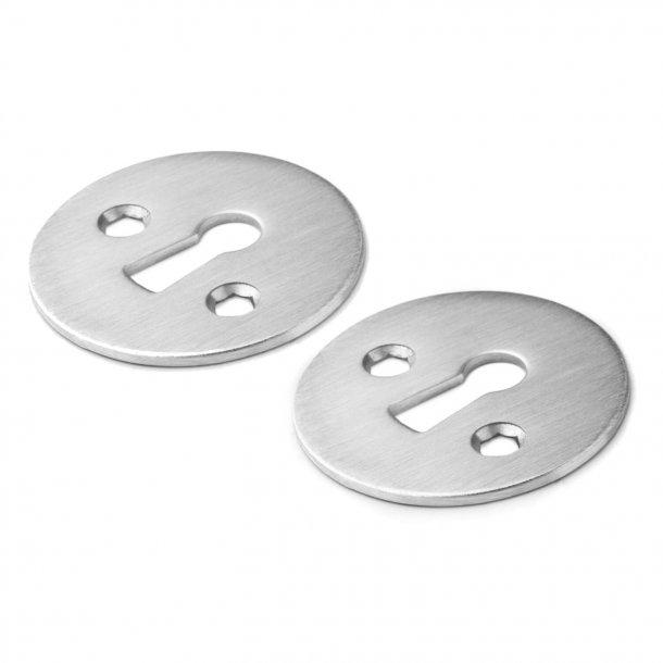 Arne Jacobsen gammaldags nyckelskyltar - Borstat stål - cc27 mm