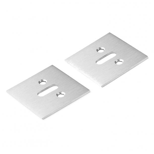 Schlüsselloch aus gebürstetem Stahl - Schmidt Hammer Lassen  - cc38mm