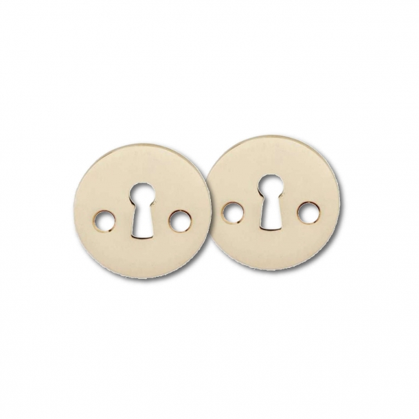 Arne Jacobsen old key escutcheon - Brass