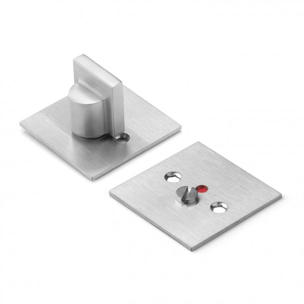 Toilet indicator - Brushed steel  -Schmidt Hammer Lassen - cc38mm