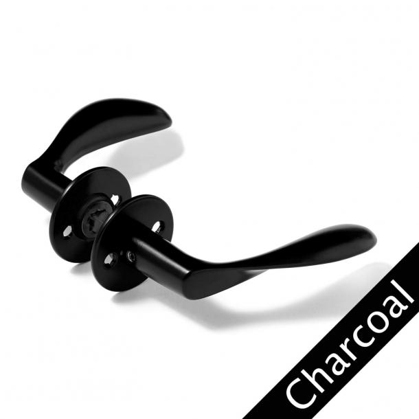 Klamka Arne Jacobsen - Klamka AJ111 - CHARCOAL - Duży model - cc30mm