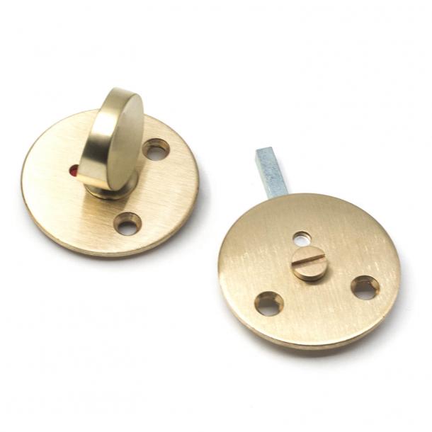 Arne Jacobsen toiletbesætning - Børstet messing - cc27mm