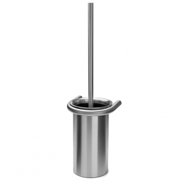Toilet brush - Wall mounted - d line - Brushed stainless steel