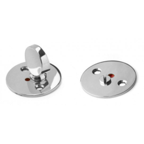 Arne Jacobsen Toilet indicator lock - Polish nickel