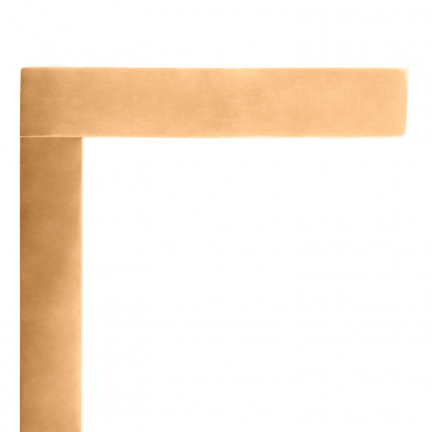 DND Door Handle - Natural brass - Alfonso Femia - Model (in)finito